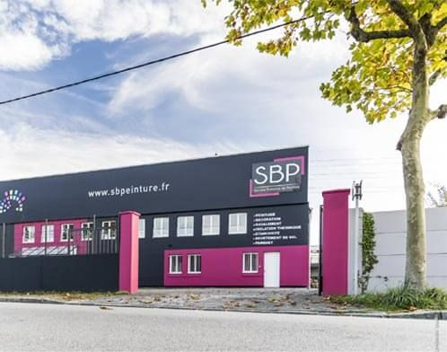 Devanture magasin SBP